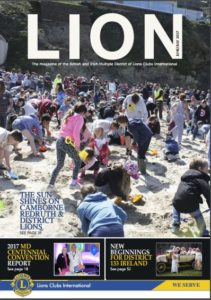 Lions Magazine April May 2017